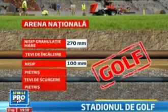 Gazonul de pe National Arena era PERFECT. S-a gresit doar ... sportul. Detalii noi din raportul UEFA