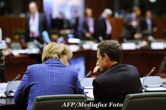 Viitorul Greciei este in Zona Euro, sustin Merkel si Sarkozy. Bursele au revenit pe plus