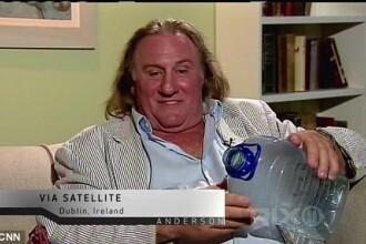 Explicatia incredibila a lui Gerard Depardieu dupa ce a urinat in avion: