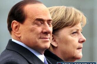 A intrecut limita. Berlusconi despre Merkel: