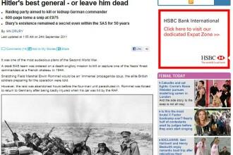 Ce nu stiai despre WWII. Asta planuiau sa-i faca soldatii britanici unui ofiter nazist