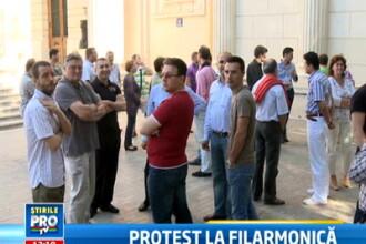 Proteste la Ateneul din Bucuresti. Directorul Filarmonicii a concediat trei muzicieni