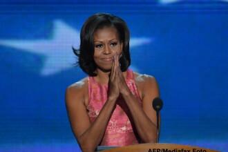 Prima Doamna a SUA, Michelle Obama, ramane mai populara decat sotul sau si decat Ann Romney