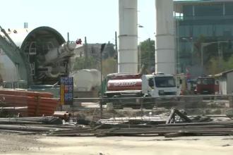 Magistrala de metrou din Drumul Taberei a umplut cartierul de praf si nervi, dar ar putea fi amanata
