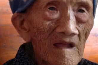 Ea ar putea fi cea mai batrana femeie din lume. Sustine ca s-a nascut in 1885 si are 127 de ani