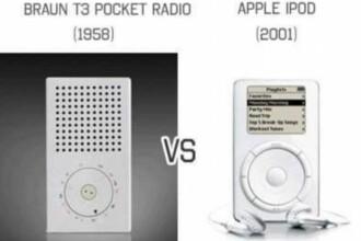Cat de original este design-ul Apple. Asemanari izbitoare cu produse vechi de 60 de ani. FOTO