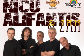 Nicu Alifantis si Zan – concert extraordinar pe 5 octombrie 2012 in Hard Rock Cafe
