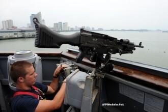 Marina americana a trimis doua nave catre Libia