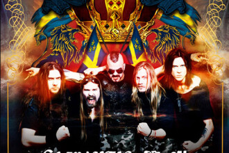 Power-metal suedez. Concert Sabaton pe 19 martie 2013, la The Silver Church din Bucuresti