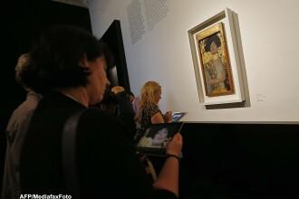 Expozitie Gustav Klimt la Castelul Peles. O singura pictura de-a sa s-a dat cu 135 milioane dolari