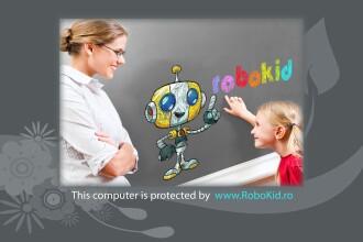 RoboKid, singurul sistem online de filtrare si protectie, special conceput de un ROMAN pentru copii