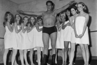 Povestea gigantului din wrestling care a baut 127 de beri fara sa mai poata fi miscat din loc