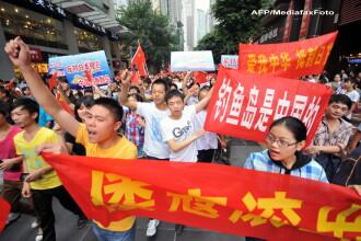 Noi manifestatii antijaponeze in China. Un japonez a atacat cu grenade fumigene consulatul Chinei