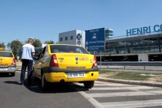 Ministerul Transporturilor va elimina monopolul firmelor de taxi de pe Aeroportul Otopeni