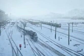 Imagini cu Gara din Timisoara, in campania de promovare a noului film din seria