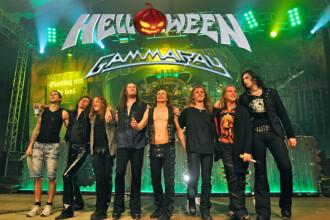 Concert Helloween si Gamma Ray la Bucuresti - 16 martie 2013