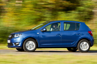 Dacia a prezentat joi noile modele; Sandero, disponibil in Romania de luni, de la 6.990 euro cu TVA