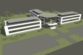 La Arad incepe construirea unui nou spital pentru bolnavii de TBC. Vezi cum va arata