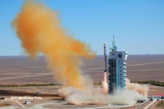 China a plasat pe orbita un satelit de observare al Venezuelei. VIDEO
