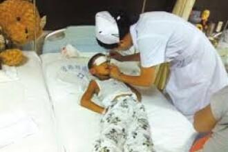 Ipoteza politiei: Baiatul chinez ramas fara ochi a fost agresat de matusa