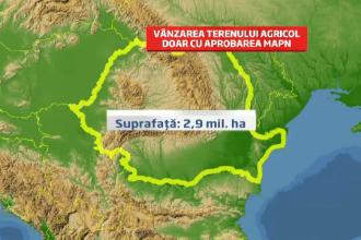 Proiectul care va schimba agricultura in Romania. Cumperi pamant doar daca ai studii agricole