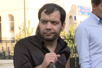 Reactia tatalui lui Ionut in clipa in care Sorin Oprescu a inceput sa planga in fata presei