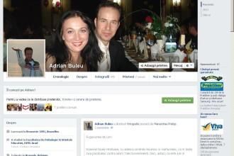 Adrian Buleu, cel care si-ar fi ucis partenerul de afaceri, are profil pe Facebook. Afla explicatia