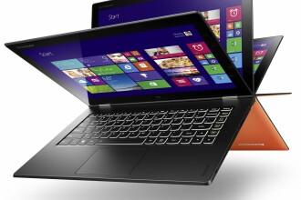Lenovo Yoga 2 Pro si ThinkPad Yoga, doua noi laptopuri pe care le poti rasuci cum vrei