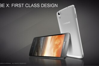 Lenovo lanseaza Vibe X, un telefon extrem de subtire care vine cu ecran de 5 inch