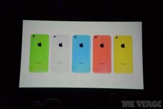 Specificatii iPhone 5C. Ecran de 4 inci si cip de tipul A6 pentru noul smartphone lansat de Apple