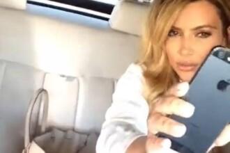 Kim Kardashian si-a aratat telefonul, un iPhone 5S, inainte sa fie lansat oficial
