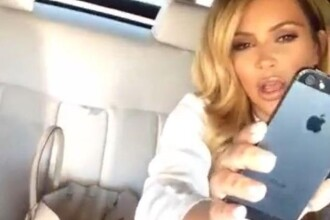 Moment jenant pentru Kim Kardashian. Cum au fotografiat-o paparazzi in Los Angeles
