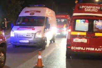 Accident in Nadlac. 3 persoane au murit, iar 29 sunt ranite,dupa ce doua autocare s-au lovit frontal
