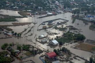 Cod PORTOCALIU de inundatii pentru Tulcea si Constanta de vineri noapte, de la 22:00