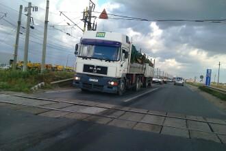 Autoritatile inchid din nou DN 7, in Vladimirescu. Motivul nu are cum sa-i mai suprinda pe soferi