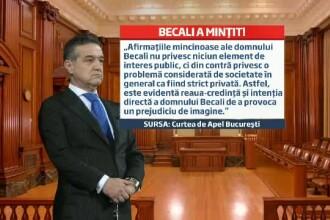 Gigi Becali, acuzat ca a mintit in scandalul cu Dragos Savulescu. Finantatorul Stelei va plati daune