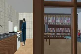 Animatie grafica StirileProTV. Cum s-a produs explozia in urma careia o fetita de opt ani a murit