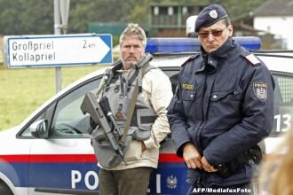 Braconierul care a ucis 3 politisti si o asistenta medicala in Austria, s-a sinucis dandu-si foc