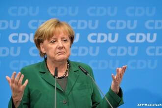 Alegeri legislative in Germania. Angela Merkel joaca pentru prima data