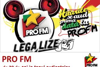 PRO FM e numarul 1 in Banat! Postul de radio inregistreaza cele mai spectaculoase cresteri