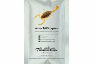 Scorpioni si gandaci la conserva, ultima moda in materie de