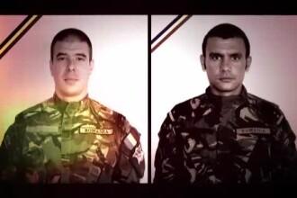 Cati bani vor incasa familiile celor doi militari romani, care au cazut la datorie in Afganistan