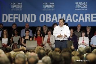 Republicanul Ted Cruz a incercat sa blocheze Senatul SUA pe tema