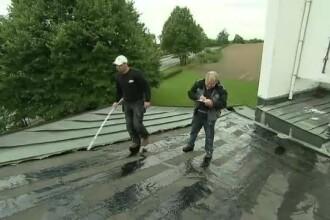 Hotii din Germania au ajuns la un nou nivel. Au reusit sa fure acoperisul unei capele