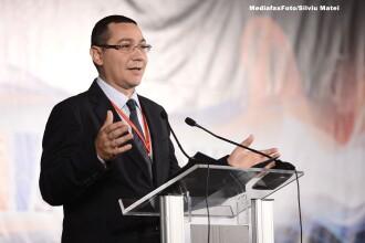Ponta: Nu sunt probleme in USL, initiativa PNL privind alegerile locale e treaba Parlamentului