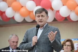 Antonescu: Daca Dragnea va dori sa discute de indata Legea electorala, o fac, desi sunt alte urgente