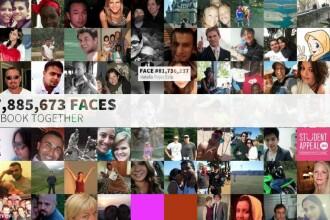 Toate pozele de profil de pe Facebook, intr-o singura imagine. Cum merge aplicatia Face of Facebook