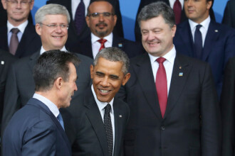 Criza din Ucraina. Ce a discutat la telefon Porosenko cu Barack Obama, inainte de a se intalni cu Vladimir Putin