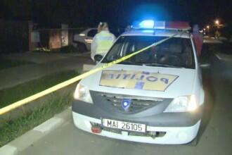 Rafuiala intr-o comuna din Ilfov. Un politist a ajuns la spital cu nasul spart, iar agresorul lui, impuscat in spate