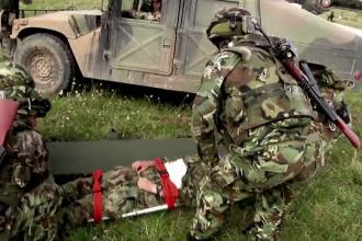 ANIMATIE GRAFICA: Un militar roman a murit si alti patru au fost raniti, intr-un exercitiu multinational in Germania